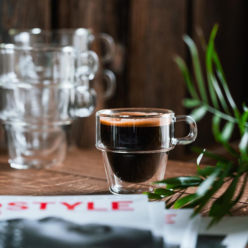szklanka termiczna na czarną kawę
