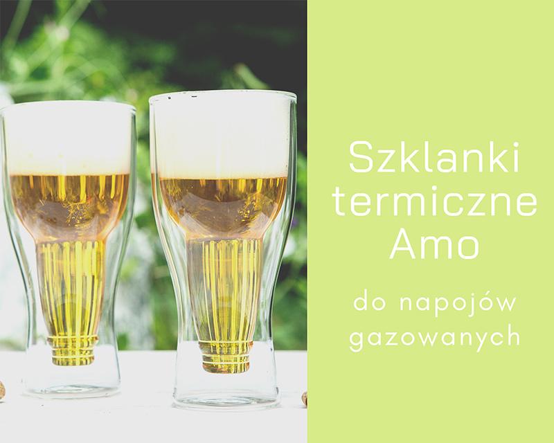 Szklanki termiczne Amo Vialli Design do piwa