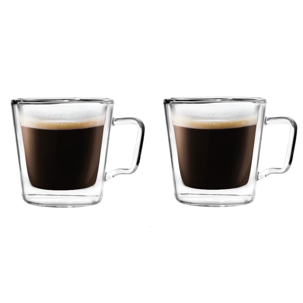 Szklanki termiczne do espresso 2szt 80 ml