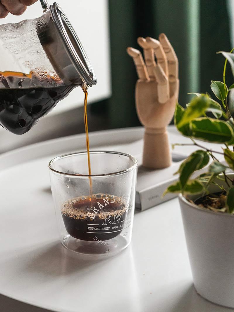 szklanka termiczna na małe espresso
