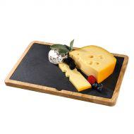 Deska do serwowania sera 33x23cm Cilio brązowo-czarna