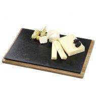 Talerz do serwowania sera z drewnianą podkładką Cilio Formaggio