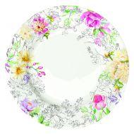 Talerz płytki 26,5 cm Nuova R2S Queen's Garden