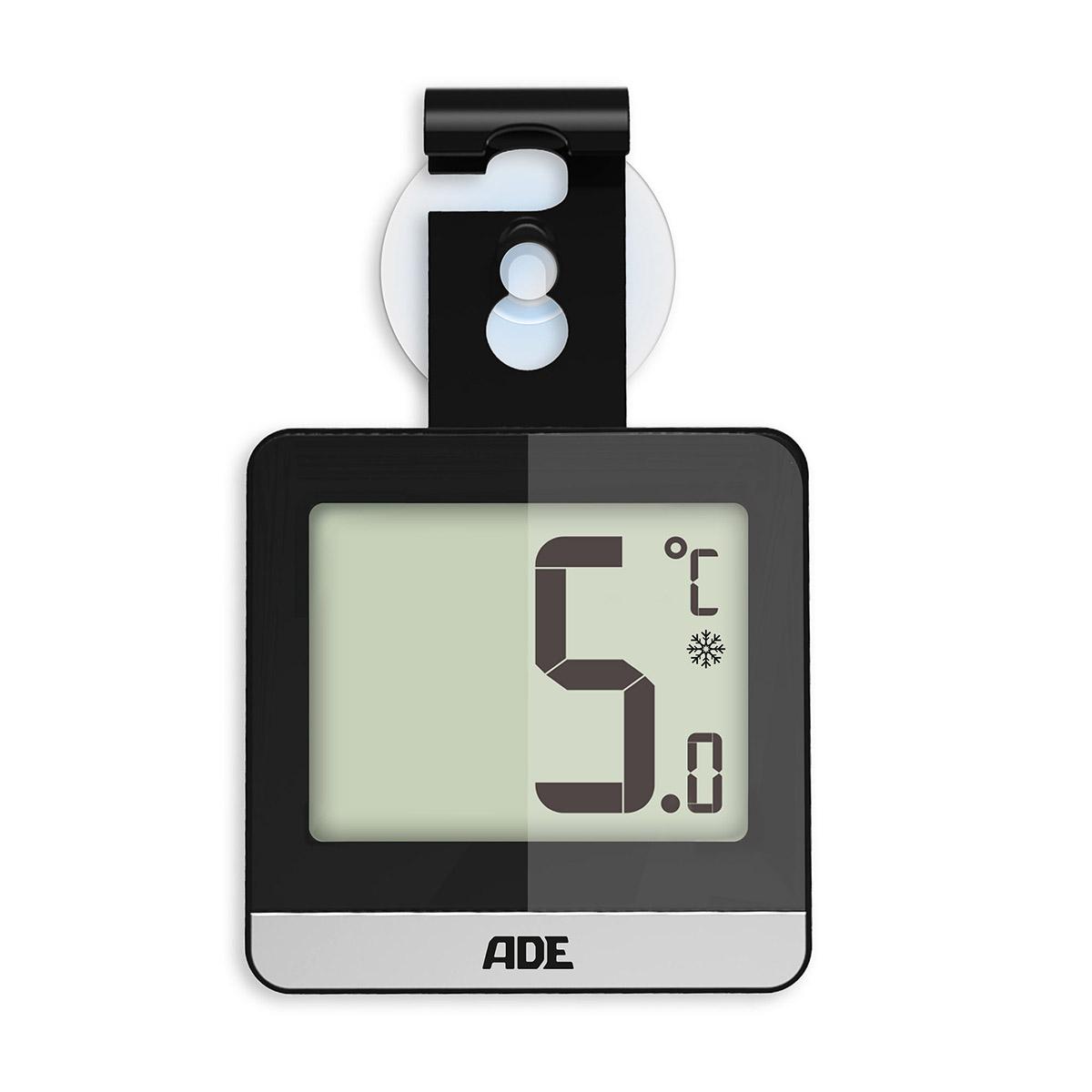 termometr do lodówki i zamrażalnika, 6 x 10 x 1,5 cm