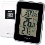 Termometr z bezprzewodowym czujnikiem do pomiaru temperatury Sencor SWS 25 BS