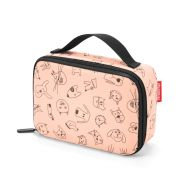 Torba na lunch thermocase kids Reisenthel cats and dogs rose