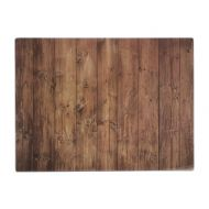 Deska ze szkła hartowanego drewno Typhoon WSPS brązowa