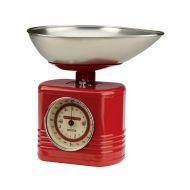 Waga 28,5x27x22cm Typhoon Vintage Kitchen czerwona