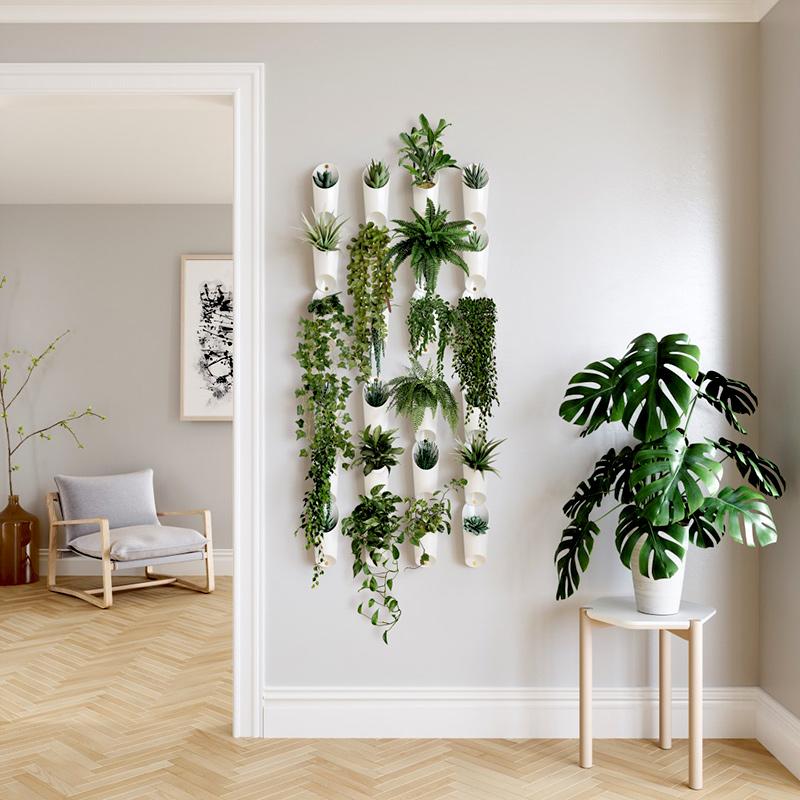 Doniczki na rośliny Umbra białe