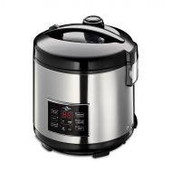 Urządzenie do gotowania ryżu 26x29cm Kuchenprofi srebrno-czarne