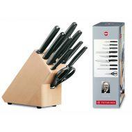VICTORINOX - Blok noży kuchennych 9-elementowy