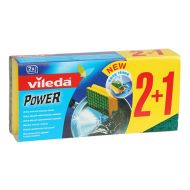 VILEDA 2+1szt Zmywak Green Power
