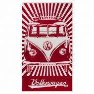 Ręcznik plażowy 160x90 cm BRISA VW BUS czerwony