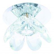 Lampa wisząca Wenus oczko transparentne