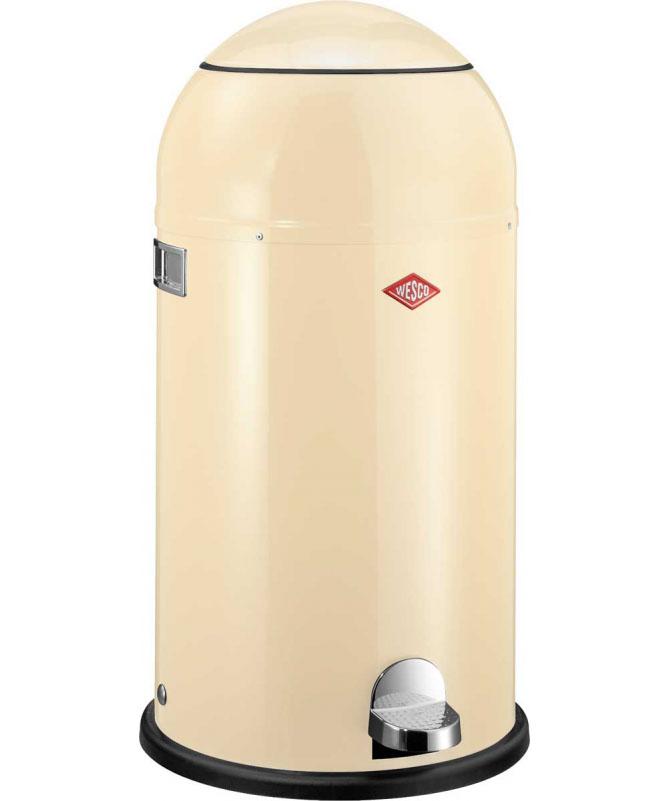 Wesco - Kosz na śmieci beżowy 33l Liftmaster Wesco