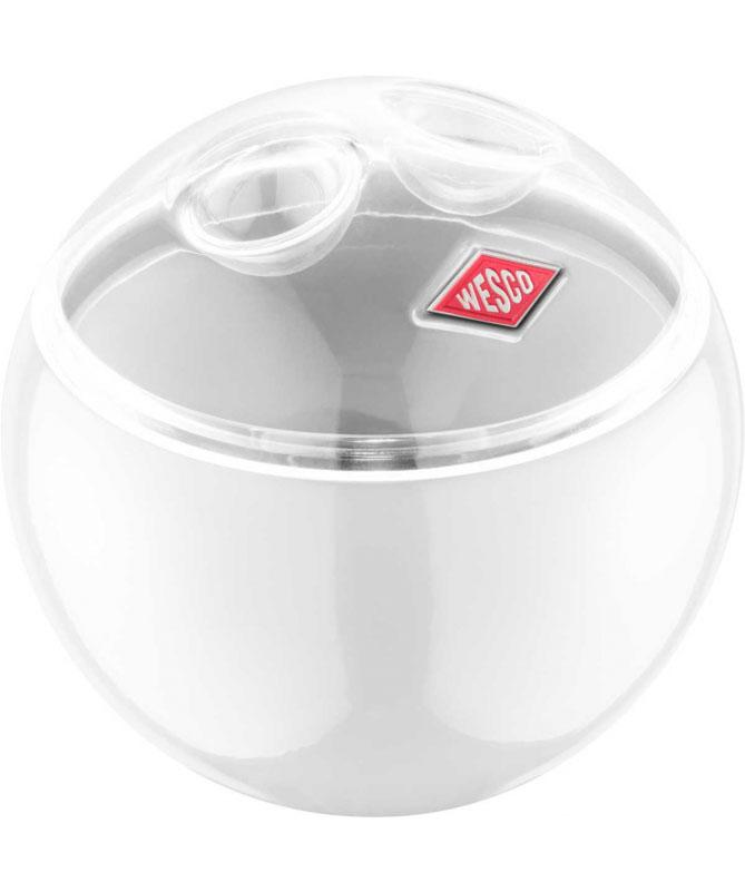 Wesco - Pojemnik biały 125mm Mini Ball Wesco