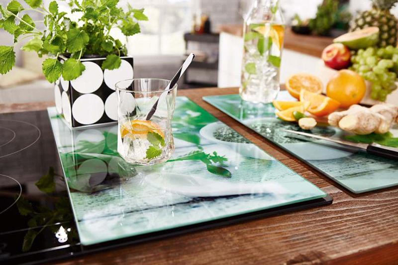 Szklane deski kuchenne