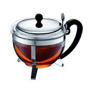Zaparzacz do herbaty 1,5l Bodum Chambord czarny