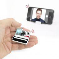 Zdalny przycisk do zdjęć selfie + stojak Bluetooth Selfieme Mustard