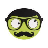 Zegar 37 x 31 cm NeXtime Mr. Mustache