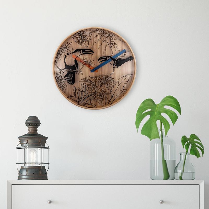 Duży zegar ścienny Nextime