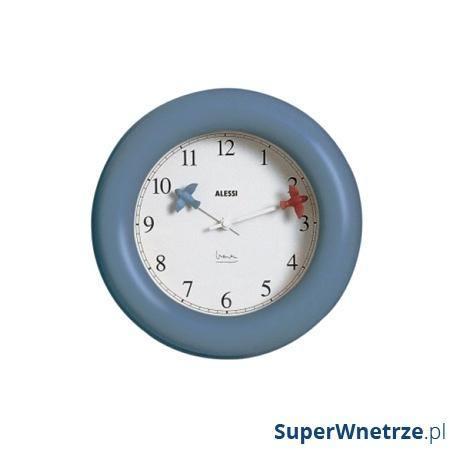 Zegar kuchenny ścienny Alessi niebieski AL-10AZ