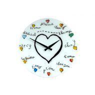 Zegar ścienny dla dzieci Nextime Loving You