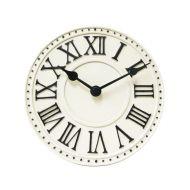 Zegar ścienny 16,5 cm NeXtime London Table biały