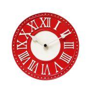 Zegar ścienny 16,5 cm NeXtime London Table czerwony