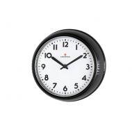 Zegar ścienny 24 cm Zassenhaus Retro czarny