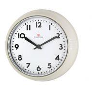 Zegar ścienny 24 cm Zassenhaus Retro kremowy