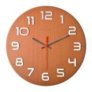 Zegar ścienny 30x30 cm Nextime Classy buk