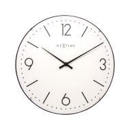 Zegar ścienny 35 cm NeXtime Basic Dome biały