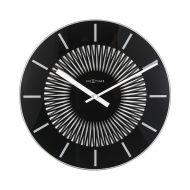 Zegar ścienny 35 cm Nextime Radial czarny