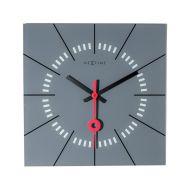 Zegar ścienny 35 cm NeXtime Stazione szary