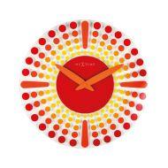 Zegar ścienny 43 cm NeXtime Dreamtime czerwony