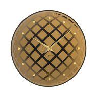 Zegar ścienny 43 cm Nextime Pendula Round miedziany