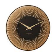 Zegar ścienny 43 cm Nextime Sahara miedziany