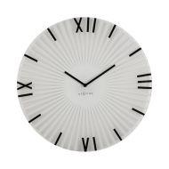 Zegar ścienny 43 cm NeXtime Sticks biały