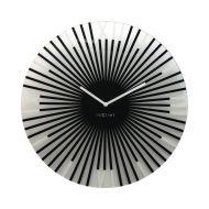 Zegar ścienny 43 cm NeXtime Sticks czarny