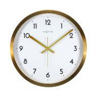 Zegar ścienny 44 cm Nextime Arabic biały