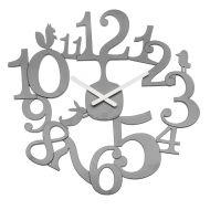 Zegar ścienny 45cm Koziol PI:P szary