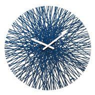 Zegar ścienny 45cm Koziol Silk kobaltowy