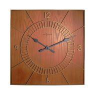 Zegar ścienny 50x50 cm NeXtime Wood Square