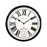 Zegar ścienny 51,6 cm NeXtime Amsterdam