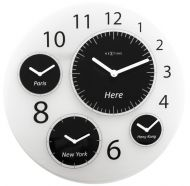 Zegar ścienny 52 cm Nextime Big World