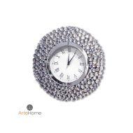 Zegar ścienny 50x50cm ArteHome Ariano clear srebrny