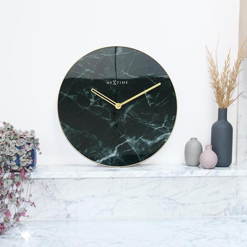 Zegar ścienny czarny Nextime
