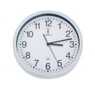 Zegar sterowany radiowo Kela Bilbao biały