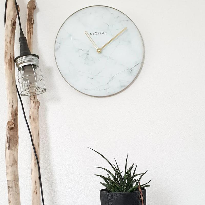 Zegar ścienny Nextime Marble